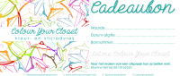 Cadeaubon Colour Your Closet